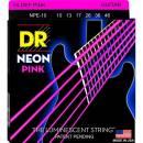 Dr strings NPE10 10/46 NEON HI-DEF PINK SET DI CORDE