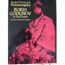 Mussorgski  - Boris Godunov  - Full score - ed. Dover