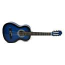 Muses CG30014BLS - chitarra classica un quarto per bambini - colore blu sfumato