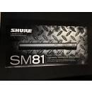 Shure SM 81 Microfono Strumento Condensatore
