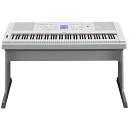 Yamaha DGX660WH portable grand - pianoforte digitale e arranger con supporto