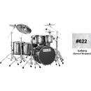Peace Dp-22db-5 -#622 - Drum Kit 5 Pcs In Betulla Con Finiture Rivestite Speciali
