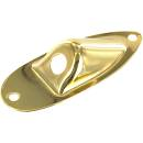 Jack plate oer stratocaster gold Hb