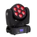 SOUNDSATION MHL-7-18W-6IN1 - Testa Mobile Beam 7x18W LED RGBWA+UV 6 in 1