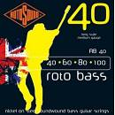 Rotosound - RB-40 Roto Bass - Nickel