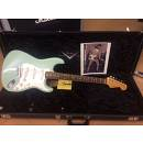 Fender Custom Shop Stratocaster Ike Turner Sonic Blue immacolata 100 esemplari