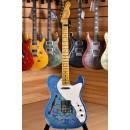 Fender Custom Shop NAMM 2017 Telecaster Thinline Limited Edition 50's Heavy Relic Blue Flower