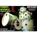 MAPEX ARMORY MAPLE/BIRCH 22 10 12 14 16 14R - NUOVA IN GARANZIA UFFICIALE ITALIA