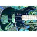 1977 Fender Jazz Bass - Black Beauty - Light Weight - OHSC