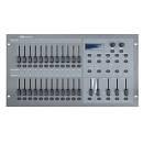 SC-2412 Banco Luci CENTRALINA CONTROLLER DMX 24 canali patchabili e 2 canali Aux