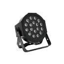 PAR LED SLS-180 RGB 18x1W Slimline SPOT