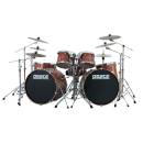 Peace Dp-22ka-5-#703 - Drum Kit 5 Pcs 100% Bubinga Con Finiture Laccate Speciali