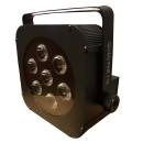 EXTREME QUAD PAR 710 LED 70 WATT 7 X 10W RGBW 4 IN 1 + CONTROLLO DMX - AUTO
