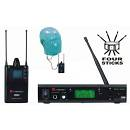ENERGY KP1R/KP1T - EAR MONITOR UHF CON 48 FREQUENZE + CUFFIA SUPER PROMO