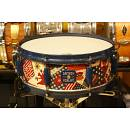 "GRETSCH U.S.A. CUSTOM 75th ANNIVERSARY 14""X5"" 8 TIRANTI USATO - CV45-17C - RULLANTE LIMITED EDITION"