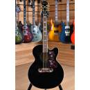 Epiphone EJ-200CE Super Jumbo Black Gold Hardware