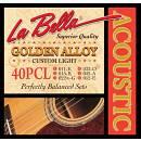 La Bella 40PCL Golden Alloy Custom Light