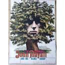Manifesto di John Mayall in Tournè 1970 - Unico esemplare al mondo -