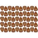 Ibanez Steve Vai 50 Pack - Confezione 50 Plettri Per Chitarra Steve Vai Signature Marroni