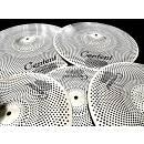 "Centent Cymbals Silent Low Volume : piatti silenziosi 14/16/18/20"" + borsa"