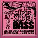 ERNIE BALL SUPER SLINKY BASS 2834 MUTA CORDE PER BASSO 4 CORDE 45/100 ROUNDWOUND