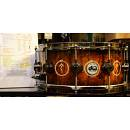 DW Drums Collector's Neil Peart NP4 Bubinga 14x6