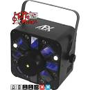 COMBO LIGHT EFFECT AFX - 5x3W RGBAW CREE LED EFFECT +BLUE/RED LASER, 8x1W WH. STROBE LED, IRC