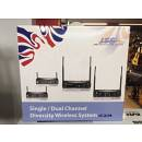 JTS Guitar Wireless System PT 850Bmi - US 8001 D - GC-80 professionale