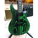 PRS SE Custom 24 Swamp Ash Sand Blasted Emerald