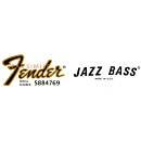 "Decal Fender JAZZ BASS anni 70"""