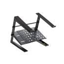 Soundsation Slap-120 - Supporto Laptop Da Tavolo Con Altezza - Larghezza Regolabili E Mensola Interm