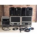 ELECTRO VOICE SX200 + FINALI Crest Audio LA1201 + CASE - IMPIANTO COMPLETO