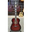 D'Angelico Guitars Premier Tammany Trans Black Cherry Burst