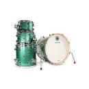 BATTERIA ACUSTICA SAKAE Trilogy Green Sparkle TR064KF/TR20T-GRS 4pz
