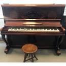 ZARI PIANO PIANOFORTE VERTICALE ANTICO CON LAVORAZIONE OCCASIONE USATO CON GARANZIA 5 ANNI
