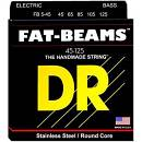DR STRINGS FB5-45 FAT-BEAMS  45/125 MUTA PER BASSO 5 CORDE SPEDITO GRATIS!