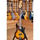 Squier (by Fender) DLX Dimension IV Bass Rw Fingerboard 3 Tone Sunburst