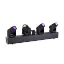 SOUNDSATION MHL-4H-BAR - Barra con 4 Teste Mobili Beam a LED da 10W RGBW Cree