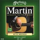 Martin M180 BRONZE 10-47 per ACUSTICA 12 CORDE