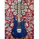 Jackson Soloist SL3 - 2008 - Made in Japan - Traslucent Blue Flame Top