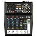 ITALIAN STAGE IS 2MIX4XU MIXER 4 CH CON BLUETOOTH USB ED EFFETTI INTERNI