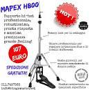 MAPEX H800 ASTA CHARLESTON - SPEDIZIONE OMAGGIO - IN GARANZIA UFFICIALE ITALIANA