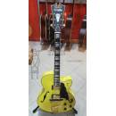 D'Angelico Guitars Deluxe DH MATTE ELECTRIC YELLOW (EX DEMO)