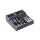 Soundsation Miomix 202m - Mixer Professionale 4-canali Con Media Player, Bt & Effetto Eco Digitale