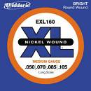 D'Addario EXL160   Set corde per basso 4 corde Super Light Long