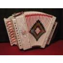 SOUNDSATION ARMONICA 2 BASSI SAC-1202D-WH WHITE IN RE -