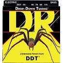 DR STRINGS DROP-DOWN TUNING DDT-55 MUTA PER BASSO 4 CORDE 55-115 SPEDITO GRATIS!