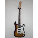 Chitarra elettrica Sst 72 Wilkinson con G/bag 3 Tone Sunburst