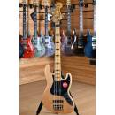 Squier (by Fender) Classic Vibe '70s Jazz Bass V Maple Neck Natural