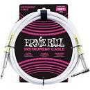 Ernie Ball 6049 Cavo Strumento PVC White - 3 metri